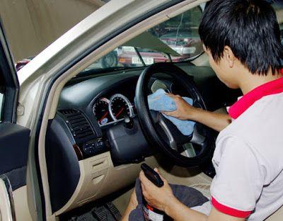 khử mùi cho ô tô