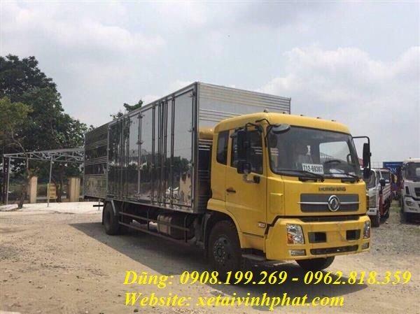 xe tải B170 thùng kín siêu dài