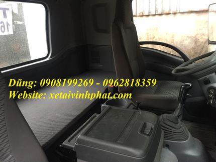 nội thất xe tải isuzu 4 chân fv330