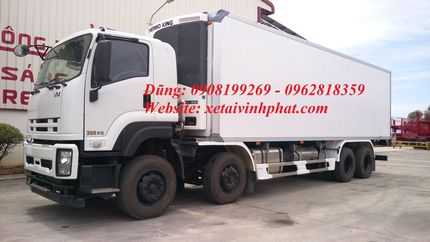 xe tải isuzu thùng đông lạnh 4 chân fv330