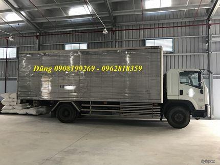 xe tải isuzu thùng siêu dài 9.5 mét