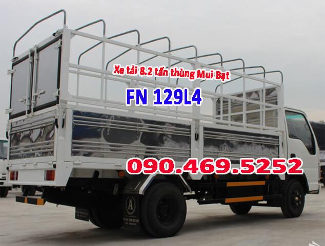 xe mui bạt dài 7m fn129