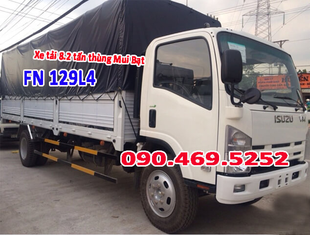 xe tải 8 tấn 2 dài 7m