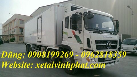 xe tải đông lạnh 4 chân dongfeng