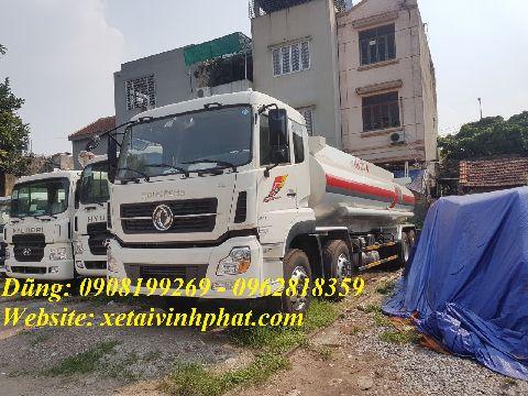 xe chở xăng dầu 22 khối dongfeng 4 chân