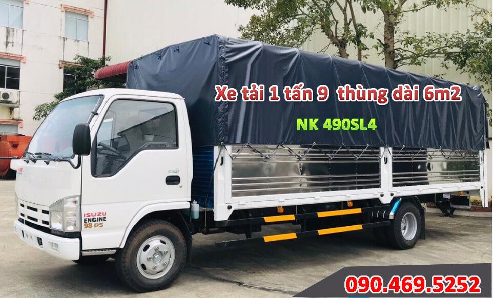 xe 1 tấn 9 thùng dài 6m2