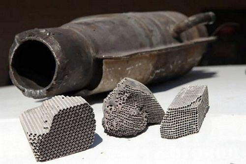 các hư hỏng của bộ chuyển đổi xúc tác khí thải