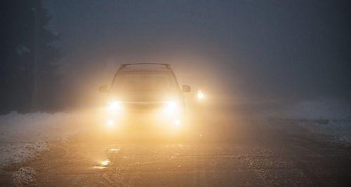 kinh nghiệm lái xe khi có sương mù
