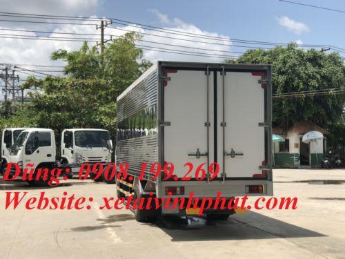 xe tải isuzu 1.9 tấn thùng kín Nk490sl4