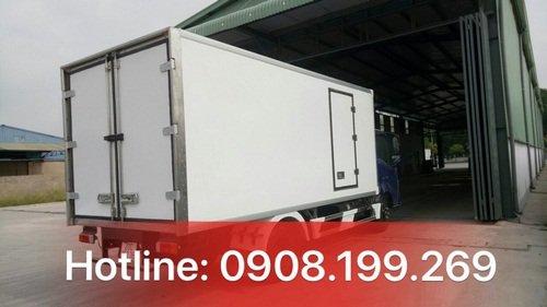 xe thùng đông lạnh hino 3.5 tấn