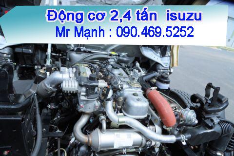 động cơ xe đông lạnh 2,4 tấn