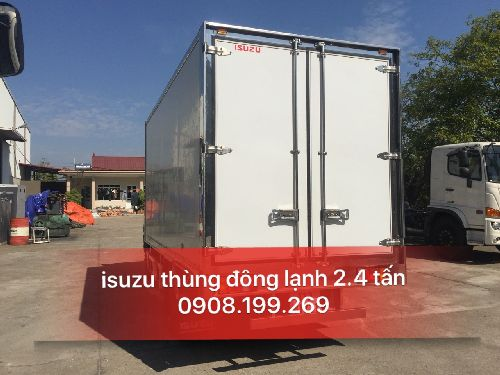 xe đông lạnh 2.4 tấn isuzu vĩnh phát