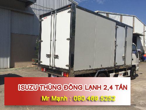 xe tải thùng đông lạnh 2,4 tấn