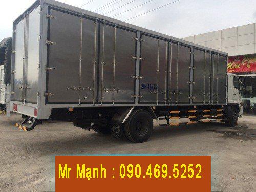 xe hino 8 tấn thùng dài 9m