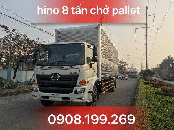 xe tải hino chở cấu kiện điện tử FG8JT7A