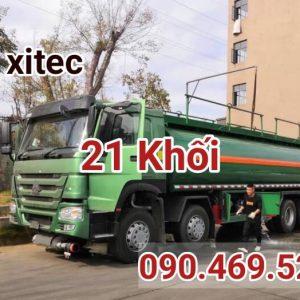 xe xitec xăng dầu 21 khối